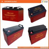 tiefes Gel-Solarbatterie der Schleife-12V150ah für Bahntelekommunikation
