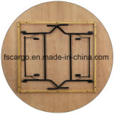 30 tapa Finished revestida plegable del vector de banquete de madera rectangular de '' X 72 '' W/Clear (CGT1611)