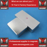 Magnete piano di NdFeB del blocchetto del neodimio permanente di N35 N52