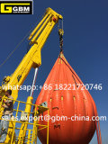 3t40m hydraulischer teleskopischer Hochkonjunktur-Untersatz Kunckle Offshorelieferungs-Marine-Kran