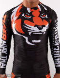 Logo impétueux fait sur commande de coutume de butoir des chemises MMA d'extension superbe Anti-UV long