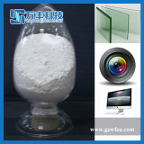 Pó de lustro do vidro branco do mármore do óxido do cério