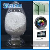 Óxido de lustro de vidro de mármore branco do cério do pó do uso