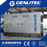 Комплект генератора двигателя 280kw 350kVA Perkins 2206c-E13tag2 молчком тепловозный