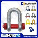 G2150 wir Typ Absinken schmiedete Kettenfessel mit Sicherheits-Schraube und Mutter/BolzenDee Fessel