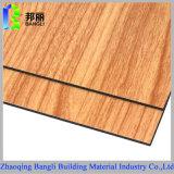 木製アルミニウム合成のパネルのアルミニウムプロフィールの装飾材料