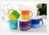 Tasse à café en céramique personnalisée mousseuse