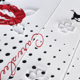 Materasso di molla d'acciaio di precisione con la coperta di tela di lavoro a maglia ispessita (FB855)