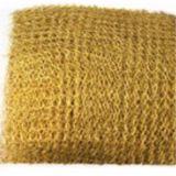 編まれた金網か黄銅の金網