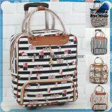 Maleta rodada elegante del equipaje de la carretilla del almacenaje de la talla de encargo Bw1-063