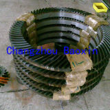 GOST 기어 절단 크라운 톱니바퀴 (OD600mm)