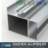 Marché en aluminium de la Tanzanie de matériau de construction de porte coulissante de profil
