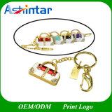 Bastone di lusso di cristallo del USB dei monili dell'azionamento dell'istantaneo del USB del sacchetto di mano
