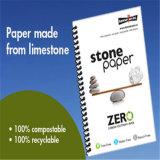 Papel de piedra libre de madera del 100% para el cuaderno