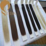 Бразильские людские волосы Remy девственницы (волосы титана)