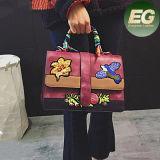Signora fatta a mano Crossbody Bag Sy8087 di vendita calda delle donne delle borse ricamata OEM dei sacchetti di cuoio dell'unità di elaborazione
