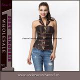 A alta qualidade perde o Shaper gordo do corpo do látex do espartilho da roupa interior que Slimming o instrutor da cintura (TA2029)
