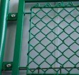 Предкрылки изгороди PVC загородки сада для загородки звена цепи