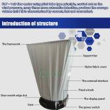 Visualizzazione Fly-1b dell'affissione a cristalli liquidi del cappuccio di bloccaggio di corrente d'aria