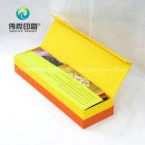 Uso colorido del rectángulo de regalo de la cartulina para el empaquetado del sobre