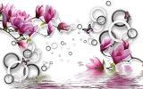 Красивейший нефрит тюльпана высекая картину маслом украшения