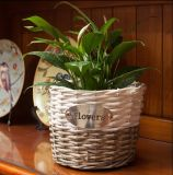 (BC-WF1026)環境に優しいハンドメイドの自然なヤナギの花のバスケット