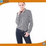 2017 Sprung-Dame-Form-Blusen-Baumwolloberseiten-Blusen-Hemden