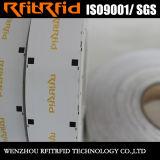 使い捨て可能な受動態RFIDの風防ガラスの札