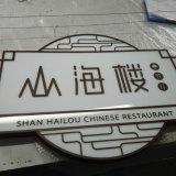 Cadre d'éclairage LED pour le nom de restaurant ou de système