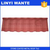 Azulejos revestidos de piedra de la hoja del material para techos del metal/detectores industriales de la meta de China