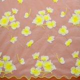 Tessuto materiale del merletto del tessuto del panno del ricamo per il vestito da cerimonia nuziale nuziale