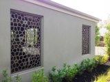 Écran architectural coupé par laser en aluminium de cloison de séparation de modèle extérieur