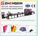 Sacos não tecidos da forma do profissional que fazem a maquinaria fixar o preço (ZXL-C700)