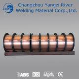 Plástico del alambre de soldadura del estruendo Sg1/carrete del metal de 1kg