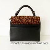 Leopard Print PU Handbagsブランドデザイン女性女性学生かばん袋(NMDK-041908)