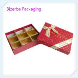 Leerer Förderung-Papppapier-Schokoladen-Großhandelskasten