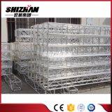 Pequeño braguero de aluminio cuadrado del tornillo/del tornillo de Shizhan 250*250m m