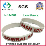 Give Away Logo Pulseira de silicone impressa