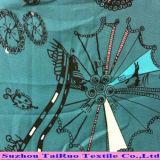 Поли напечатанная шифоновая ткань для платья повелительниц