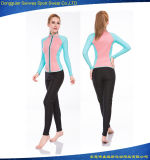 Wetsuit super da ressaca do mergulho de Scbua da mulher Stretchy do Cr da forma (50% fora da amostra)