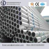 Pared delgada galvanizada tubo redondo de acero inoxidable para muebles