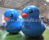 Утка PVC воздуха плотно большая раздувная для промотирования K2085