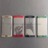 protetor curvado 9h da tela do vidro Tempered da borda 3D para o vidro da tela da borda de Samsung S6