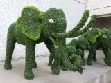 공원 장식을%s 주문을 받아서 만들어진 각종 동물성 작은 조상