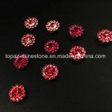 2017 новые и верхние стеклянные бусины установки когтя цветка качества 7mm кристаллический шьют на полосе Strass (TP-7mm все лт. поднял вокруг кристалла)