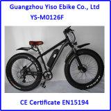 [36ف] [500و] ثلج سمين دراجة كهربائيّة مع خلفيّة يزوّد [دك] محرك