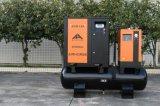 32cfm 10bar kleiner Schrauben-Luftverdichter mit Becken
