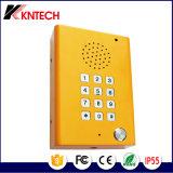 Telefone com resistência a vandalistas Knzd-29 com teclado e proteção contra o tempo aprimorado