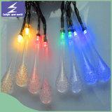 Lumière imperméable à l'eau solaire de chaîne de caractères de DEL pour des décorations de fête de Noël