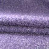 Ткань шерстей 100% в пурпуровом двойнике цвета, ровных и мягких смотрит на ткань